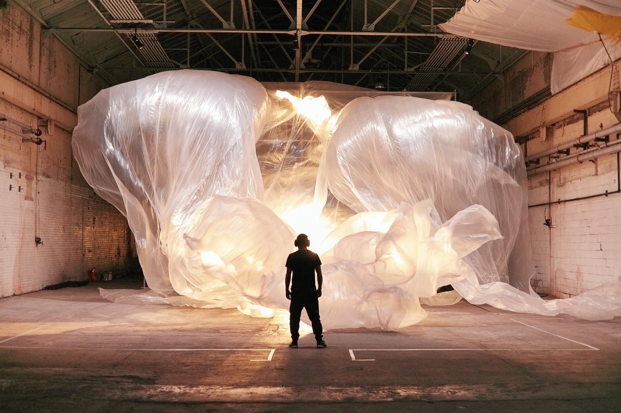 Whispers,  Immersive Multimedia Installation, 2018