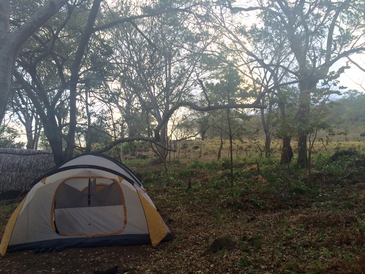 Camping at Inanitah