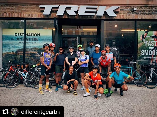 Way overdue but IM STILL SO EXCITED from our  @differentgearbk camping adventure!!! ・・・ Different Gear's Camp Ride this past weekend was life affirming. Thank you to every single rider who showed up for the squad! Thank you to our support vehicle commands @_____cal & @daibrache Thank you @trekbikeschelsea, @vitacoco @drinkruna & @citizenscommittee. Thank you @chinohardin @bklynboihood collaborators for campsite support. Thanks @lifecyclebiking & @lydiamazin for planning and leading.  12 Queer and Trans Black and Brown people pedaled across the GW Bridge through New Jersey up steep climbs  into Harriman State Park of Rockland county New York. There we camped at Beaver Pond camp grounds near Lake Welch. We learned a lot about what we are capable of when we come together as a community. Different Gear has been building community through cycling with QTPOC folx for 3 years. It is incredible what our community is capable of. Keep an eye out for more images from this weekend's ride. Next ride coming in October.