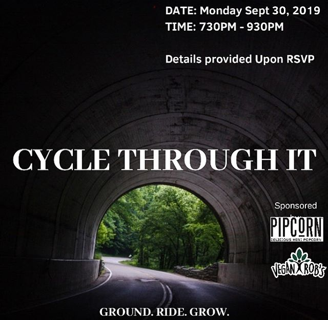 MONDAY SEPTEMBER 30TH!!!!  We firmly believe that through #physicalactivity we can place more #intention behind our thoughts and use our bodies to help #heal our minds.  Join us on Monday, September 30th for the next session of Cycle Through It, our FREE programming focused on addressing and overcoming the stressors in everyday life utilizing ourcommunity of healers and #alternativetransportation .  RSVP IS REQUIRED (Email us to RSVP👆🏾👆🏿👆 email above)  TIME: 730p (we will start promptly at 745p) LOCATION: Brooklyn, NY (further details provided upon RSVP)  Light snacks (@pipsnacks @veganrobs ), beverages and reflection notebooks provided 🚴🏽♂️🚴🏿♀️🚴🏽♂️📒🖊🚴🏽♂️🚴🏿♀️🚴🏽♂️