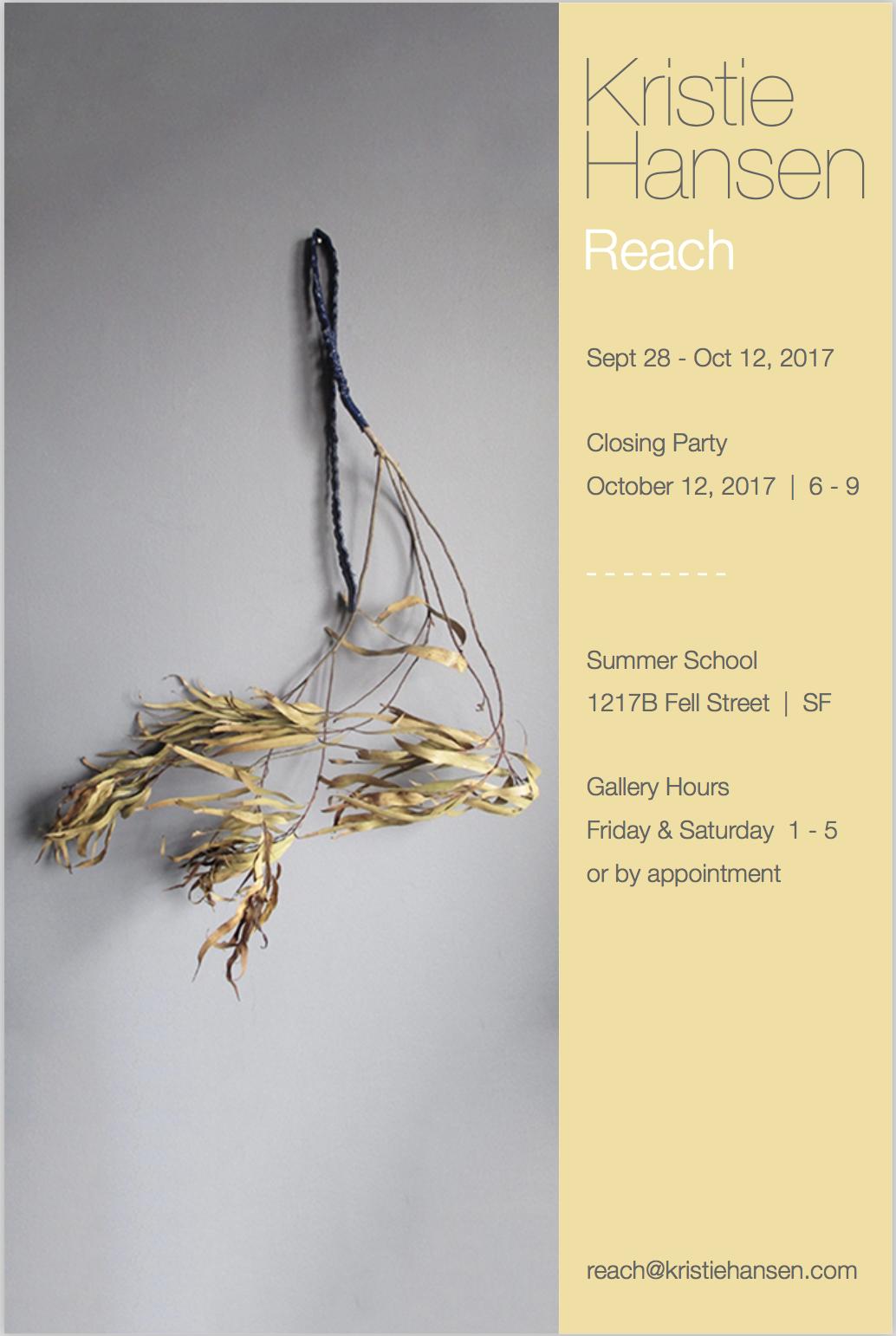 Reach   Summer School, San Francisco