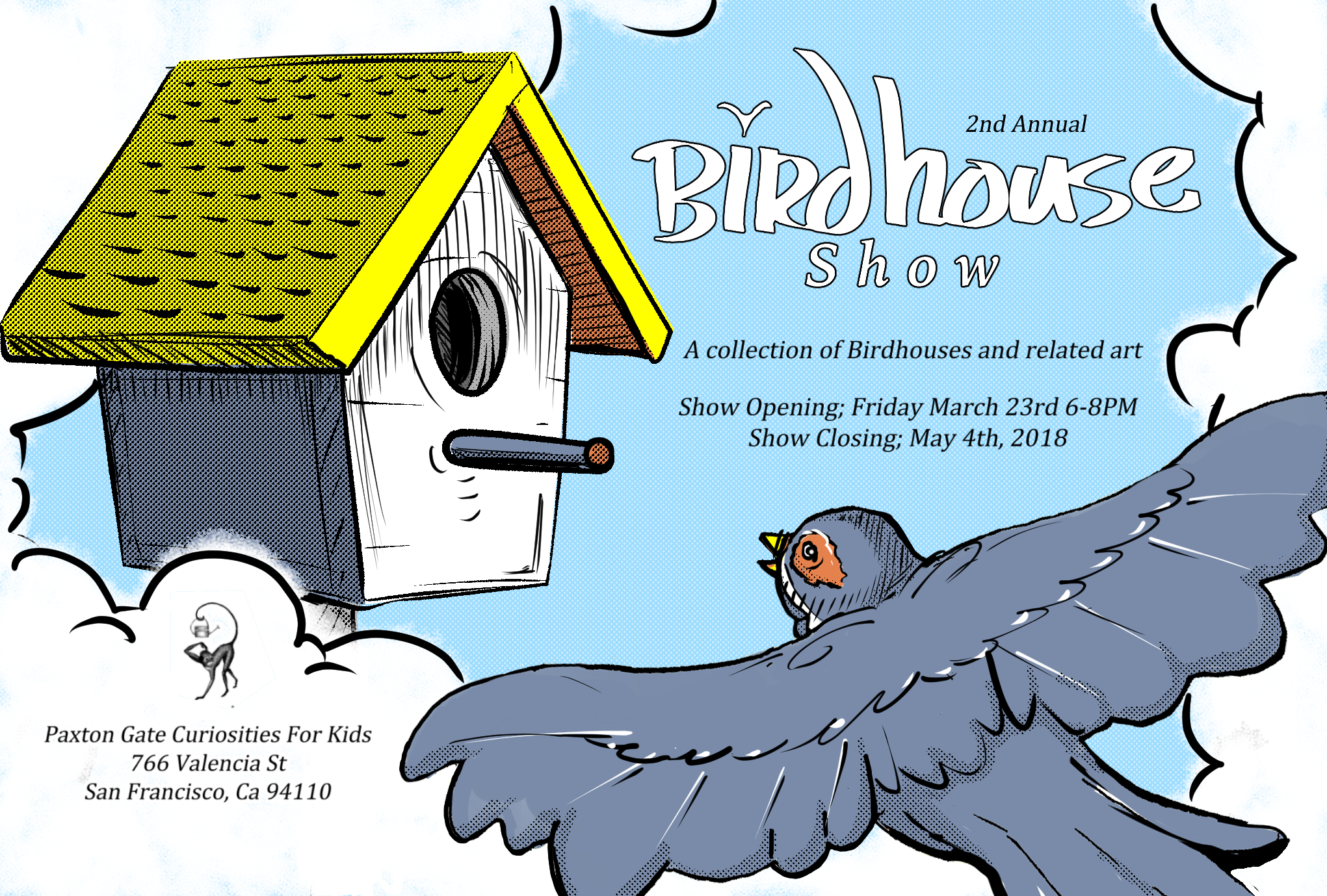 Birdhouse Show , 2018   Paxton Gate's Curiosities For Kids
