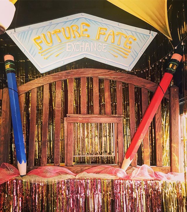 〰️⭐️WELCOME TO THE FUTURE FATE EXCHANGE⭐️〰️ WHERE WE TURN YOUR WONDER INTO CONFUSION AND YOUR CONFUSION INTO REALITY . . . #moonpuppies #sneakyplanet #fortune500 #futureisnow #astrologyreadings #cosmicconnection #syzygy #currencyexchange #installationart #experientialdesign #immersiveart #interactiveart #interactivetheater #ghosttownsofamerica #atxartist #glittershit #costumedesign