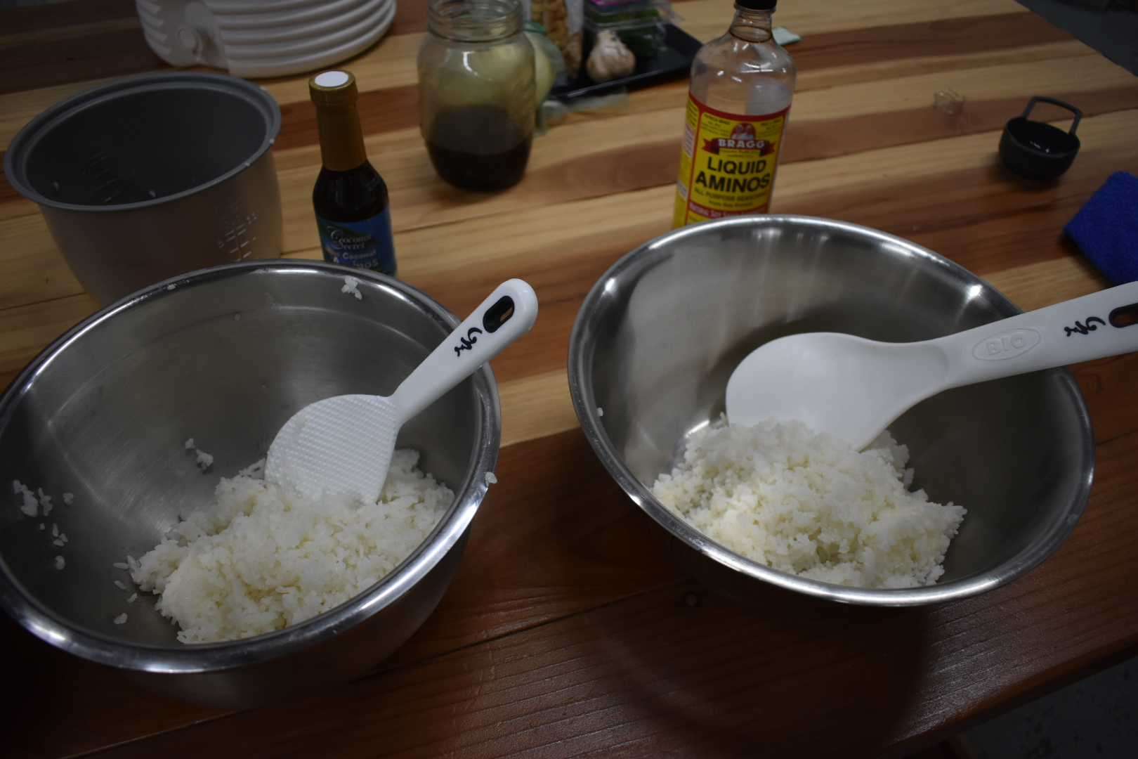 Transfer to Mixing Bowl