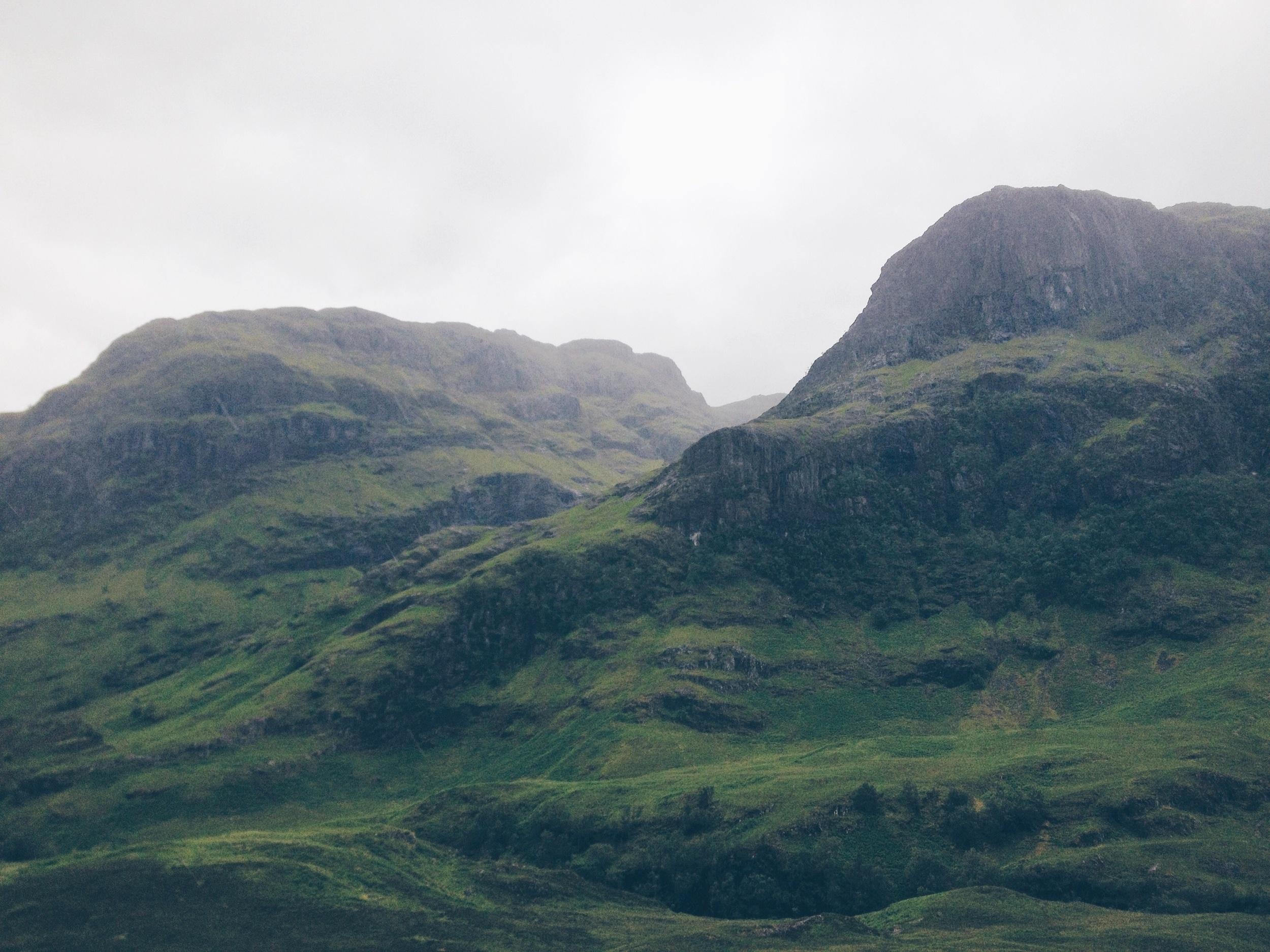 Glen Coe, Scotland - the Badon Hill Blog