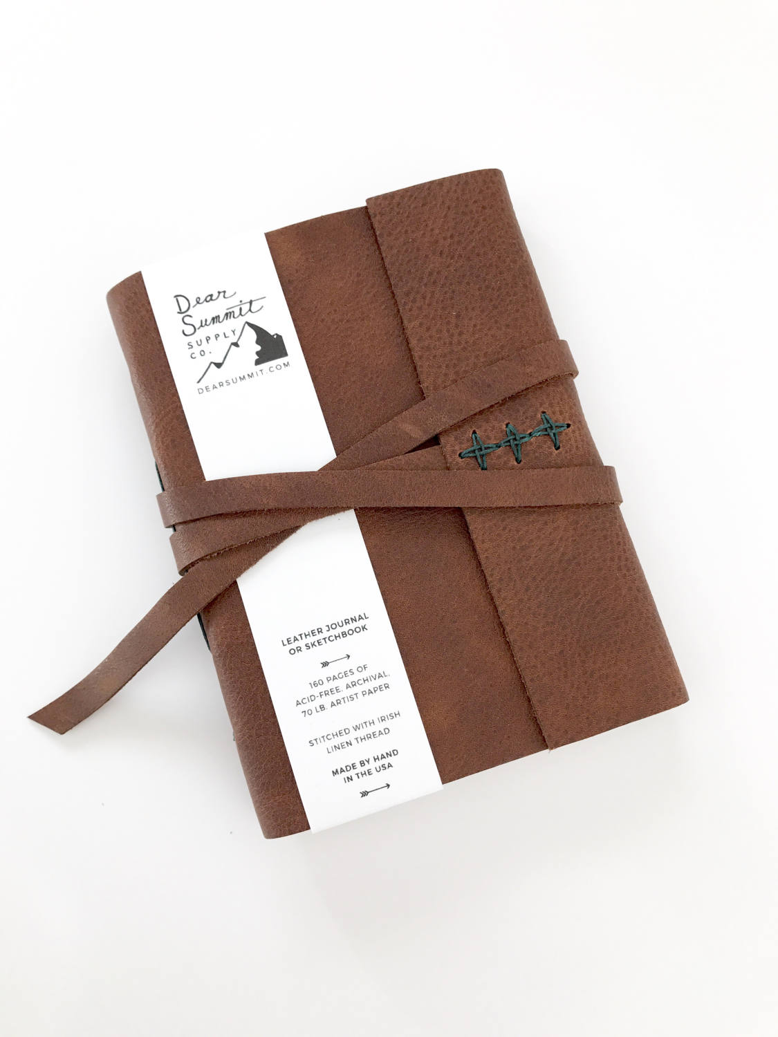A Dear Summit journal with my clear, simple packaging - ready for retail or wholesale