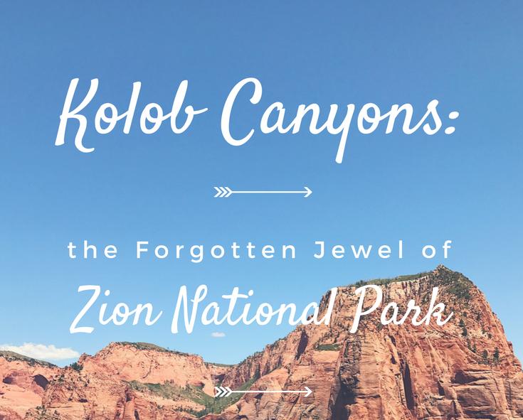 Kolob Canyons: Forgotten Jewel of Zion National Park