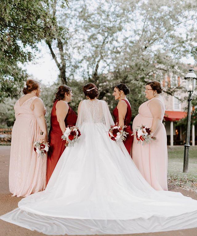 These bridesmaids were absolutely stunning in colors that made my eyeballs and camera swoon! And Jackie, your dress?! Drop dead GORGEOUS! ♥️ -  #belovedstories #junebugweddings #greenweddingshoes #marthaweddings #scarspantisaysido #josephamblerinn #autumnweddingseason #weddingphotography #lookslikefilm #liveauthentic #bridesmaids #itsdarling #bridebookdress #forthewildlyinlove #bridebook #pennsylvaniaweddings