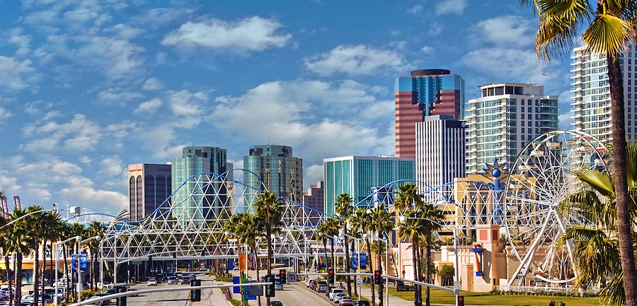 Downtown, Long Beach California, hometown of the bigger dot - a print production and project management studio