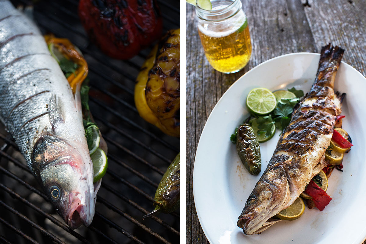 Whole Grilled Fish - Omaha Food Photography