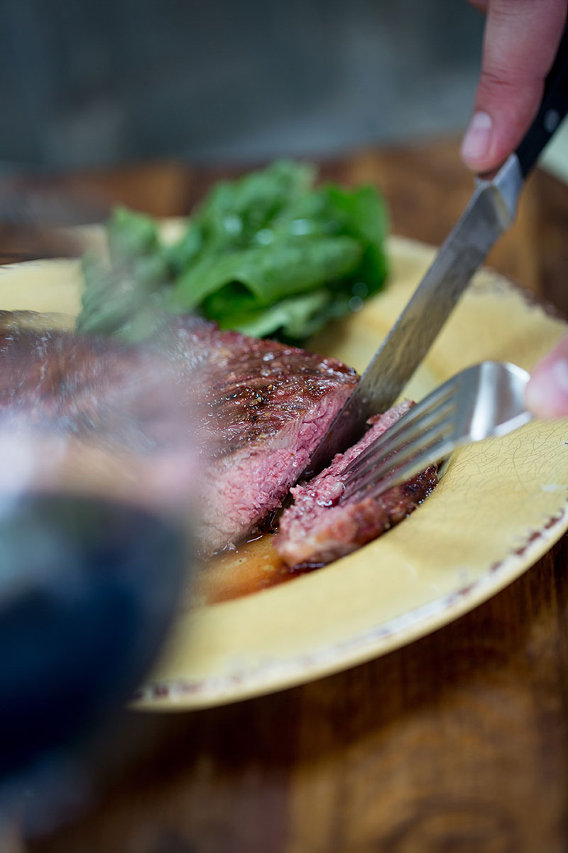 Steak dinner Midwest Food Photographers