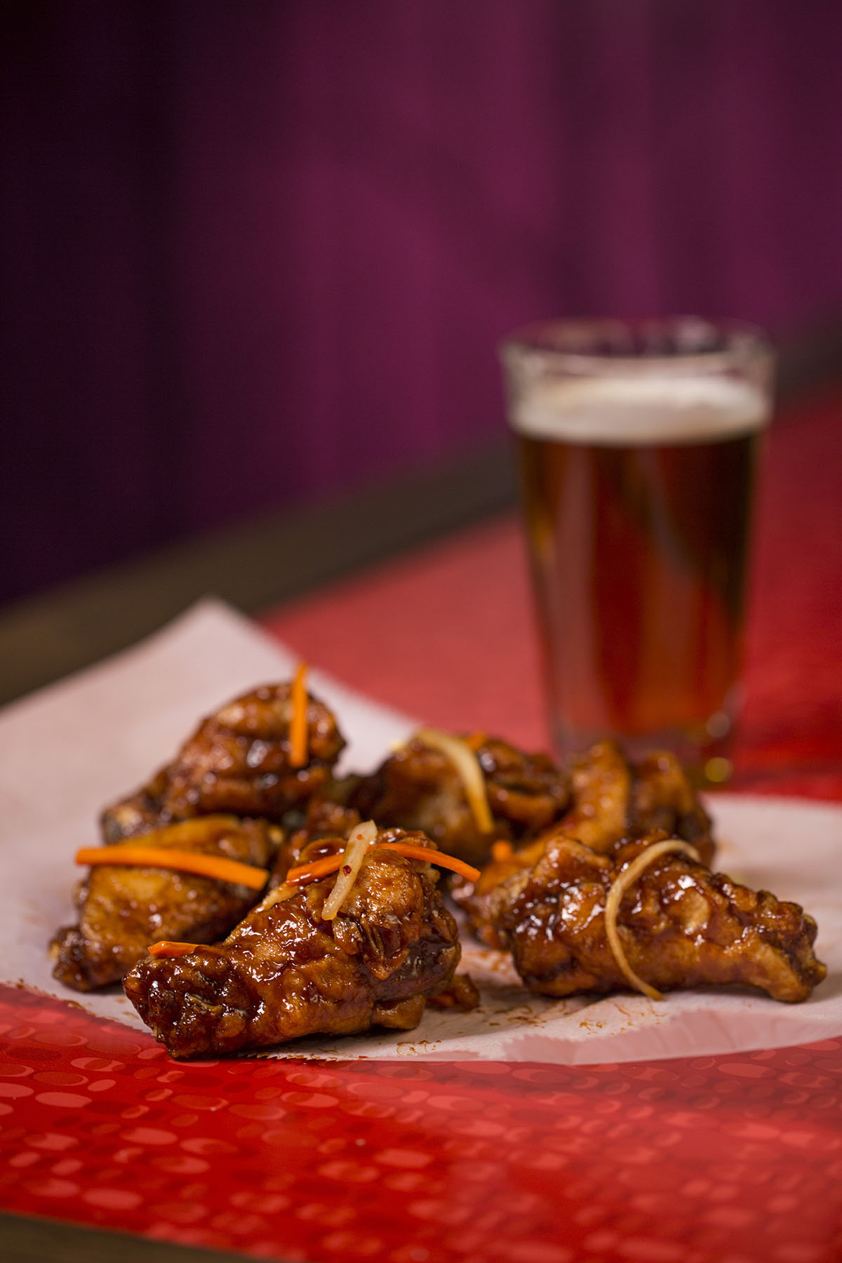 Midwest Restaurant Photographers - Nite Owl Chicken Wings