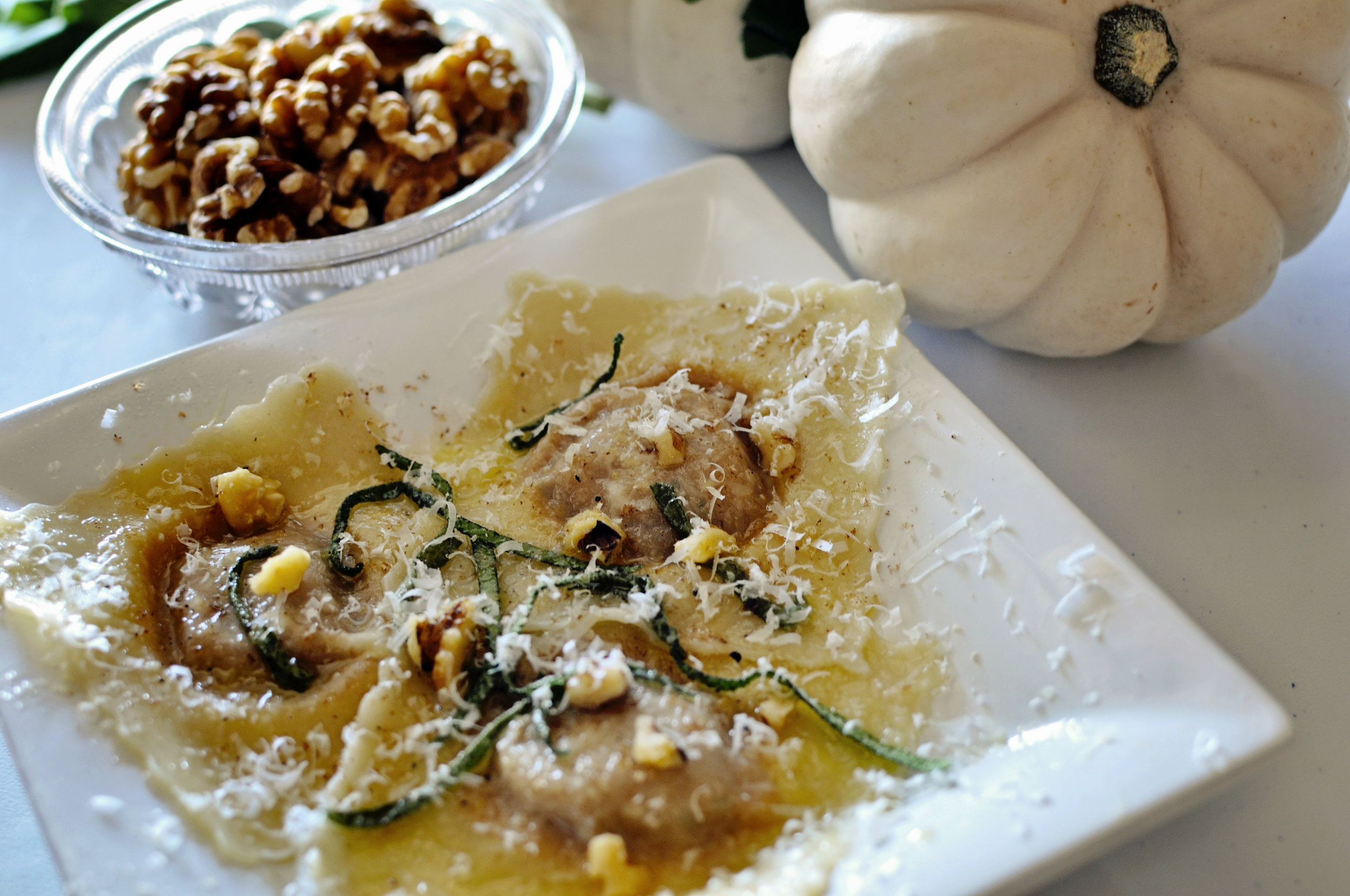 Pumpkin Ravioli Gigi Style: www.gigiwilson.com/pumpkin-ravioli