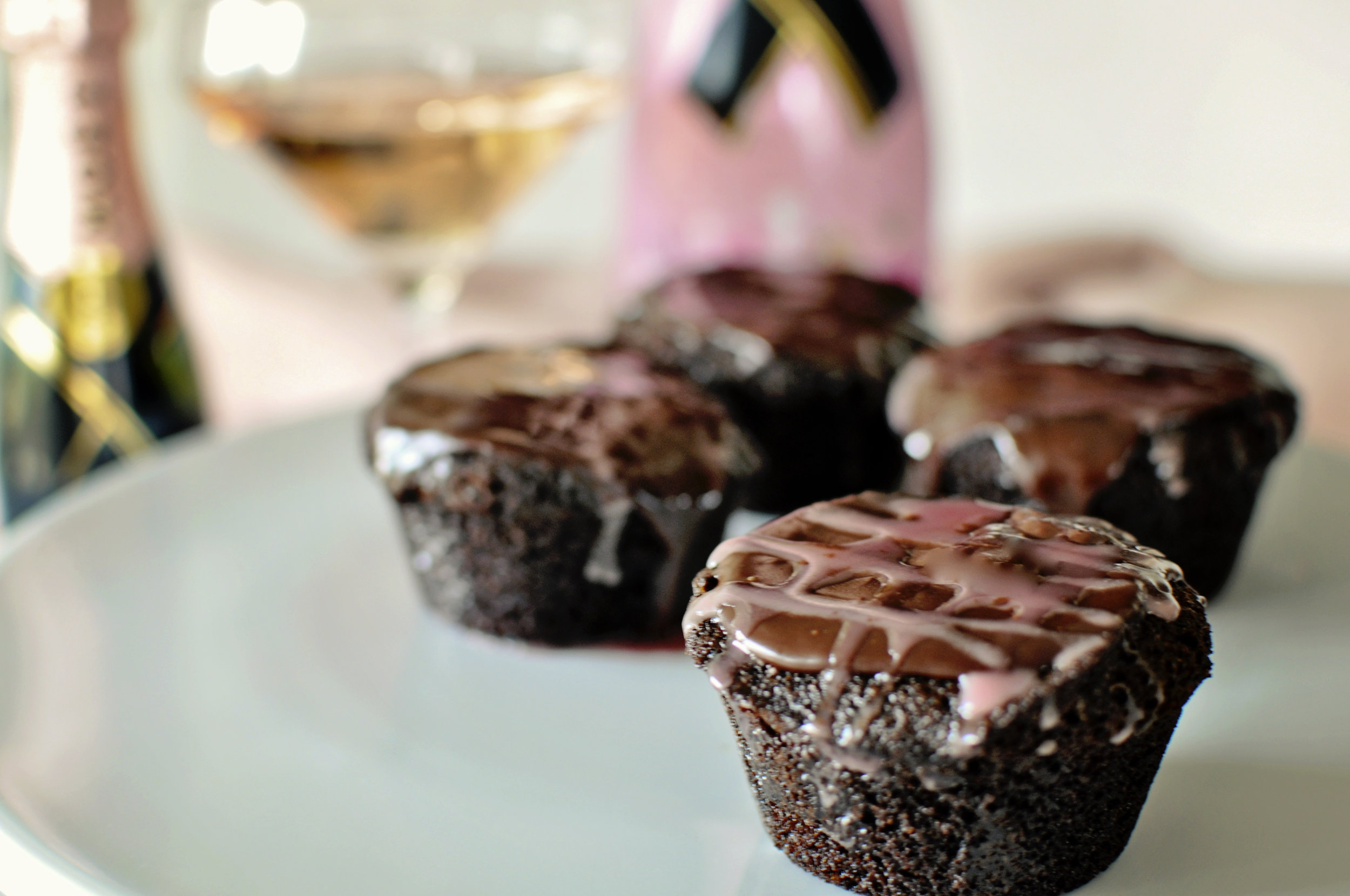 We are coming out in Pink...and Dark Chocolate to recognize and support Breast Cancer Awareness Month! I don't know of any better combination than Chocolate and Pink Champagne!