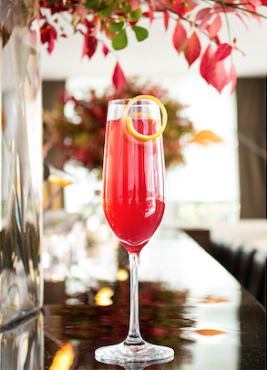 Gigi Holiday Bellini (click here for recipe)