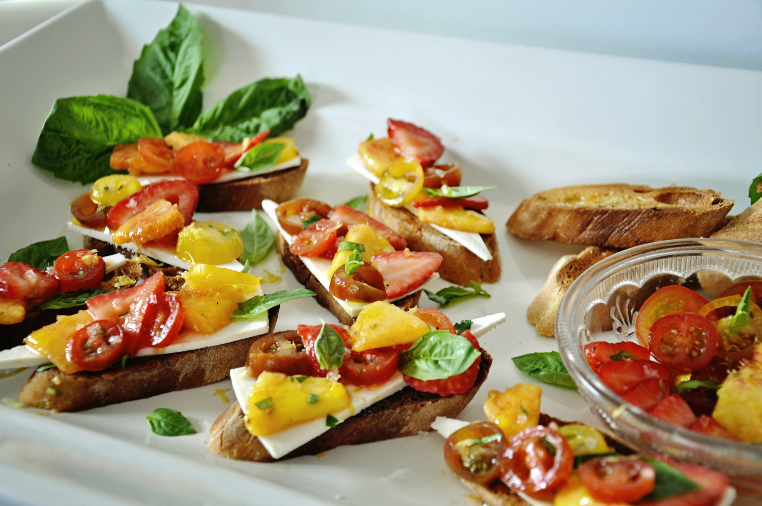 Mid Summer Bruschetta