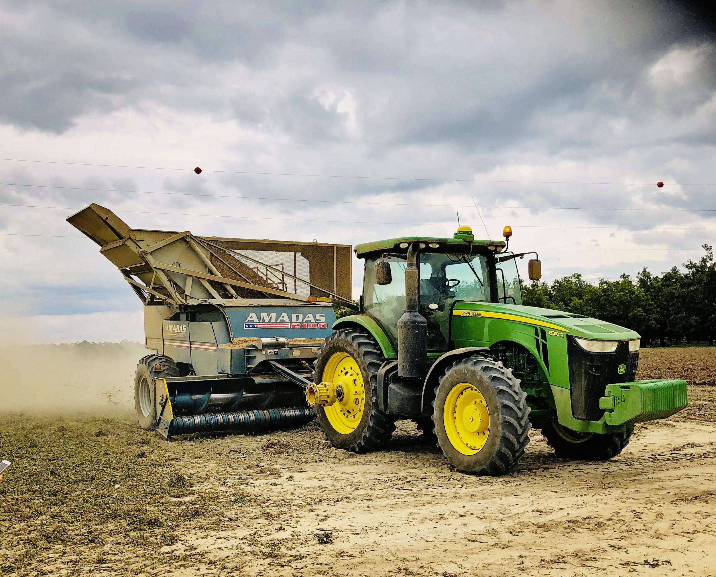 GPS Precision Tractor