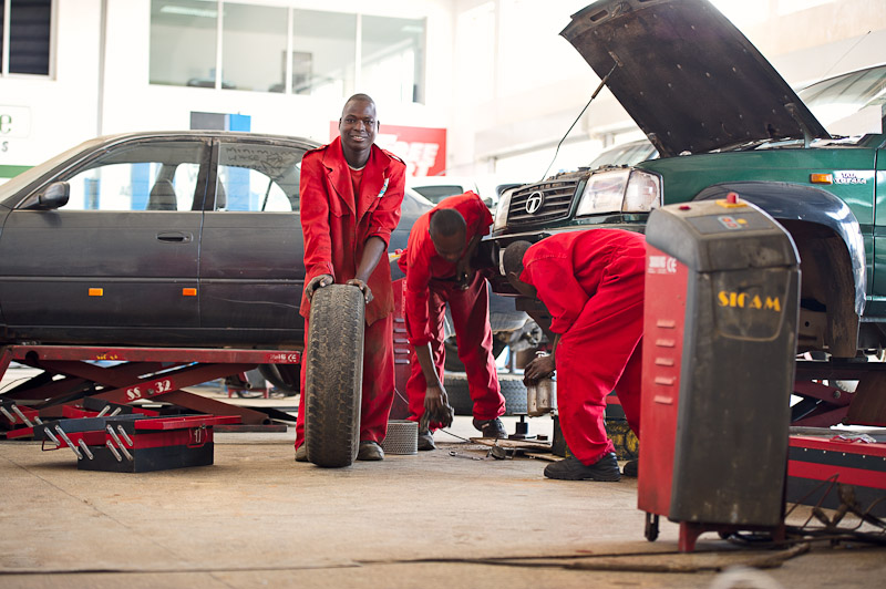 Automotive and marine servicing   Keep vehicles and boats in tip top condition with Autoworld. Expert staff, cutting edge technology and Fitment Centres across Zambia enable Autoworld to lead the way in maintenance and repairs.    View services