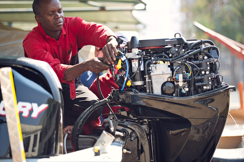 Marine products   Autoworld is the leading supplier of marine products in Zambia. It distributes Mercury Marine engines and a full range of boats. It also stocks marine accessories, electronics and engine care products.   View marine products