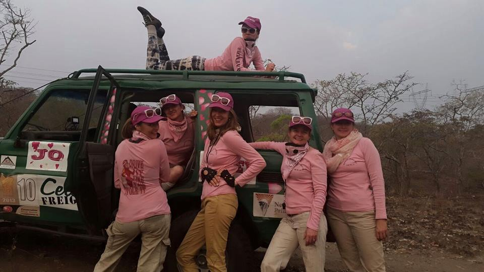 The fabulous Wacky Racers ladies team came 6th overall. Well done!