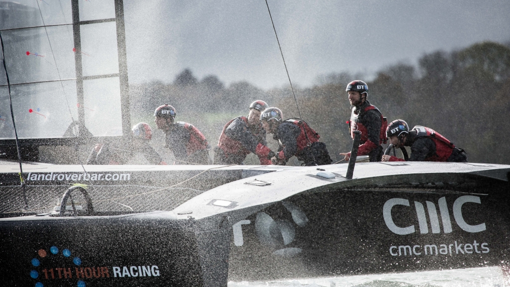 The Landrover BAR boat and racing team