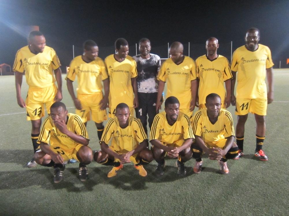 UTH Doctors team - victors for a season