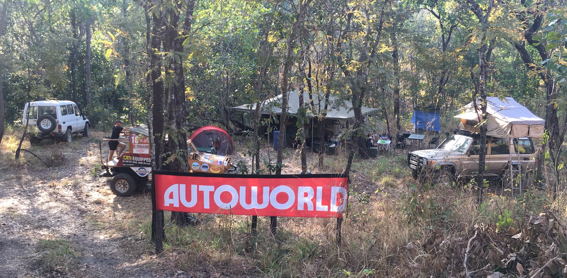 Camp Autoworld at the 2017 Elephant Charge