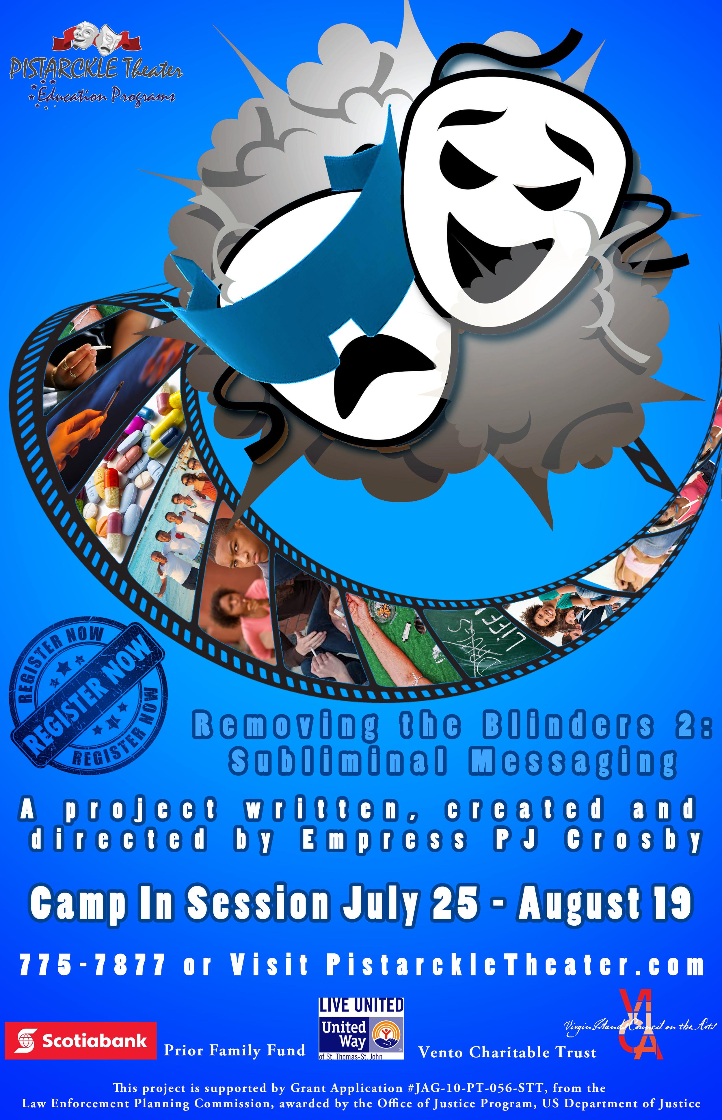 Leadership Camp at Pistarckle - Live Entertainment on St. Thomas, USVI