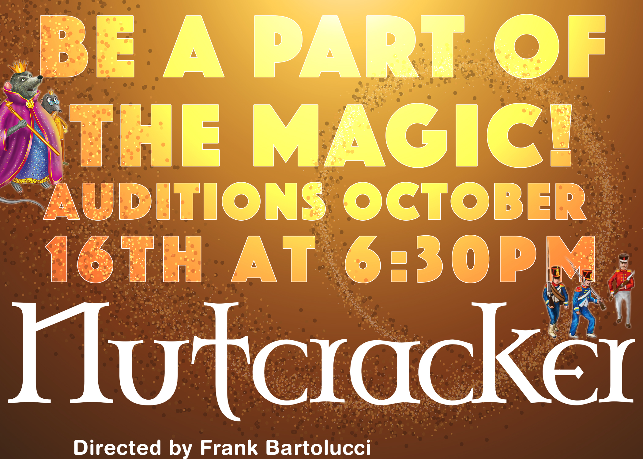 Nutcracker Auditions - Pistarckle Theater, Live Entertainment on St. Thomas USVI