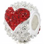 red and clear pave crystal slide bead.jpg