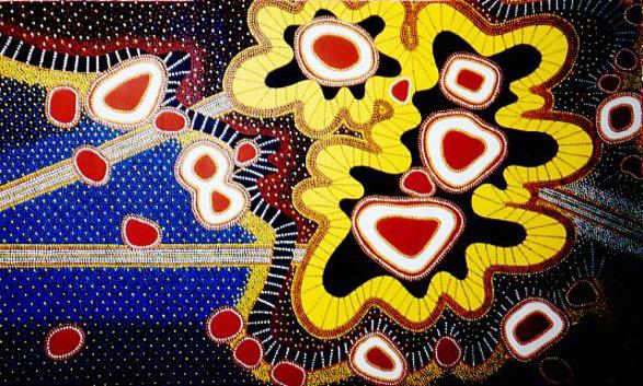 "Chakras Bursting into Space, acrylic on canvas, 60"" x 96"", 2002"