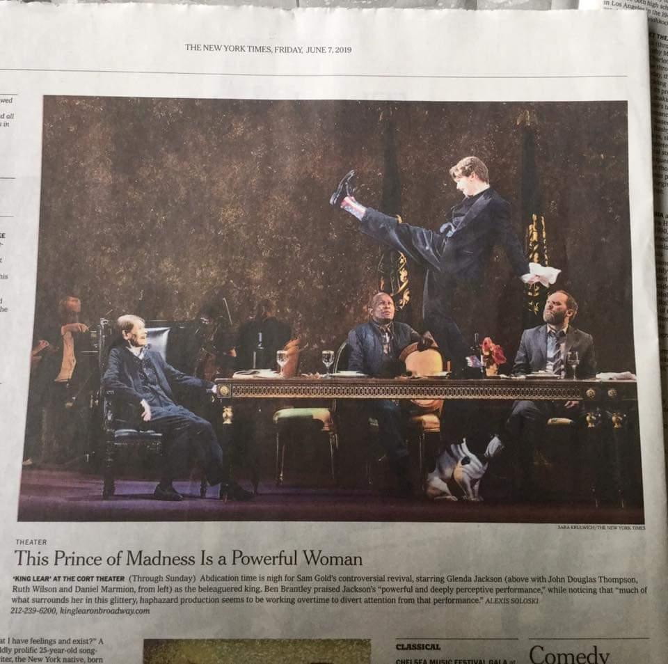 2019 NY Times (King Lear)