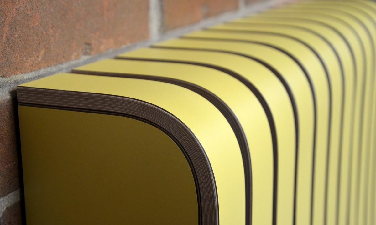 'Saffron' Laminate Radiator Cover