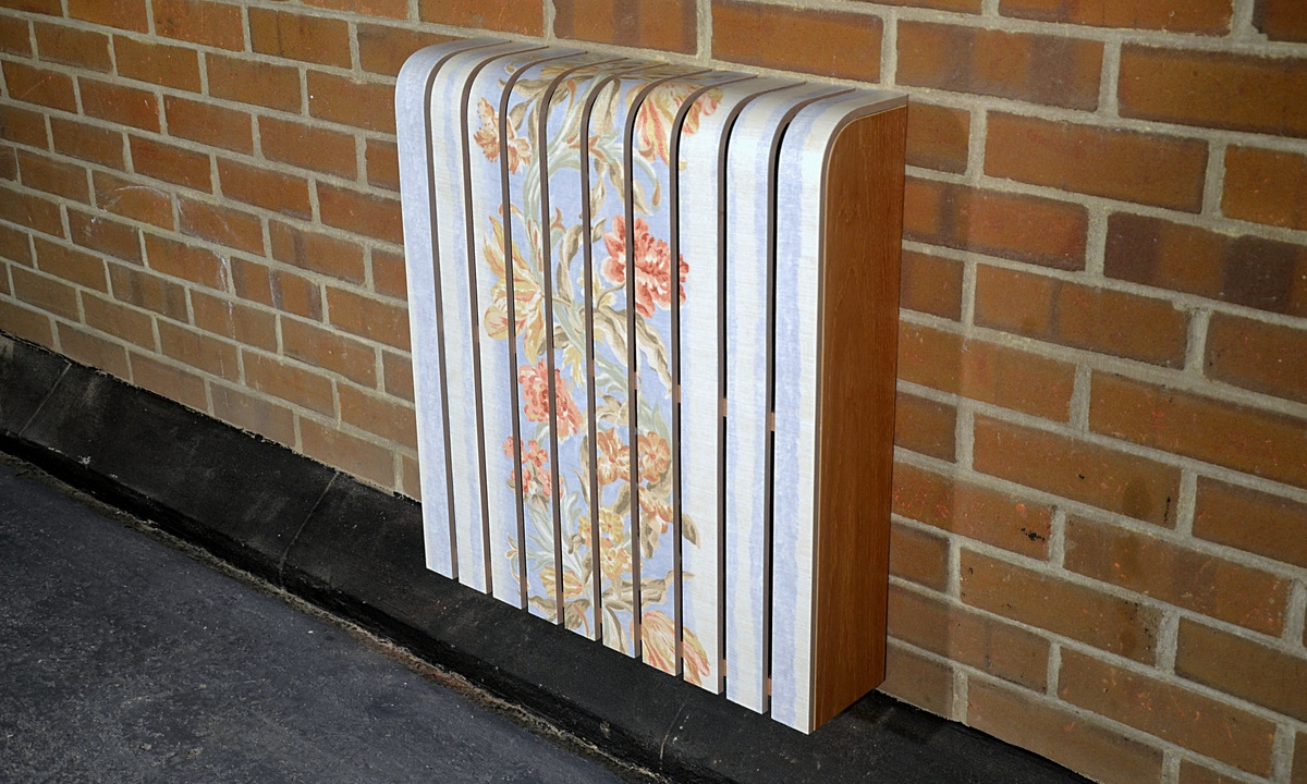 Vintage Fabric Radiator Cover