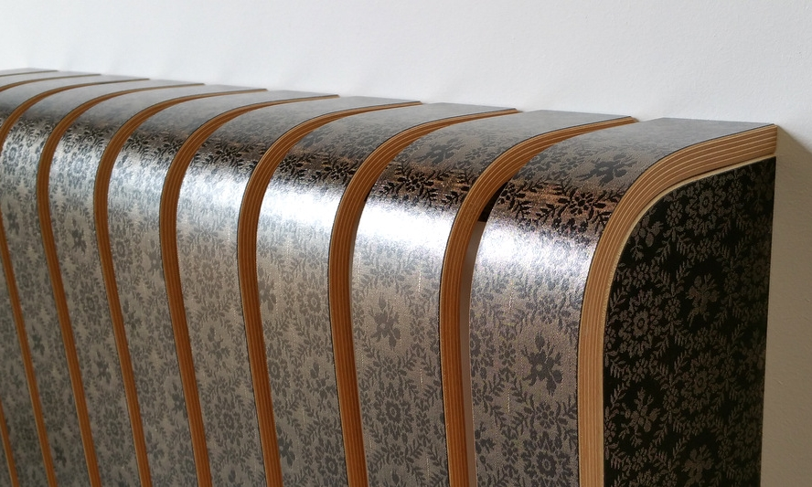 "Radiator Cover in laminate fabric ""6032"""