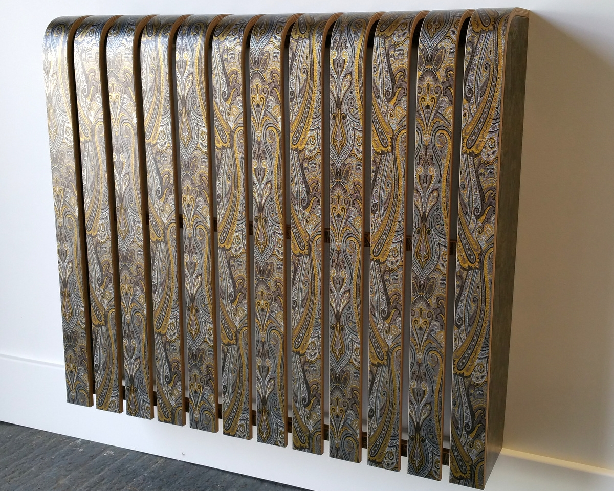 "Paisley Pattern Radiator Cover ""1147"""