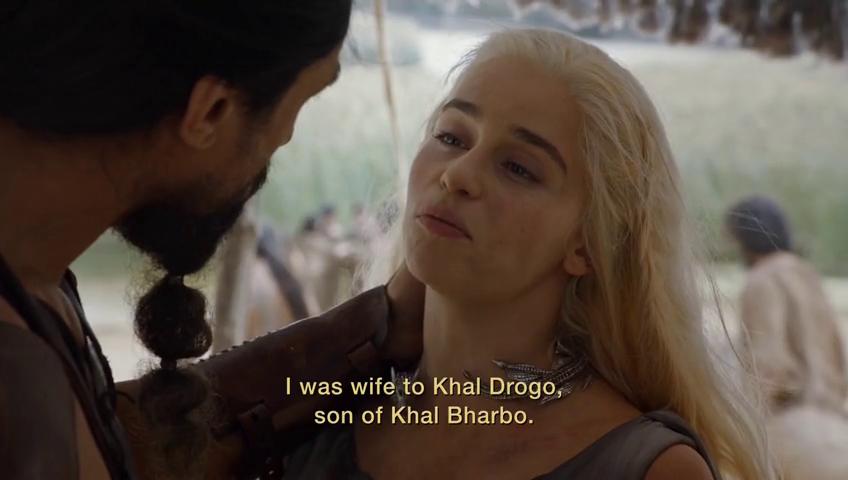 He was the son of Khal Beardo. Ha ha ha.