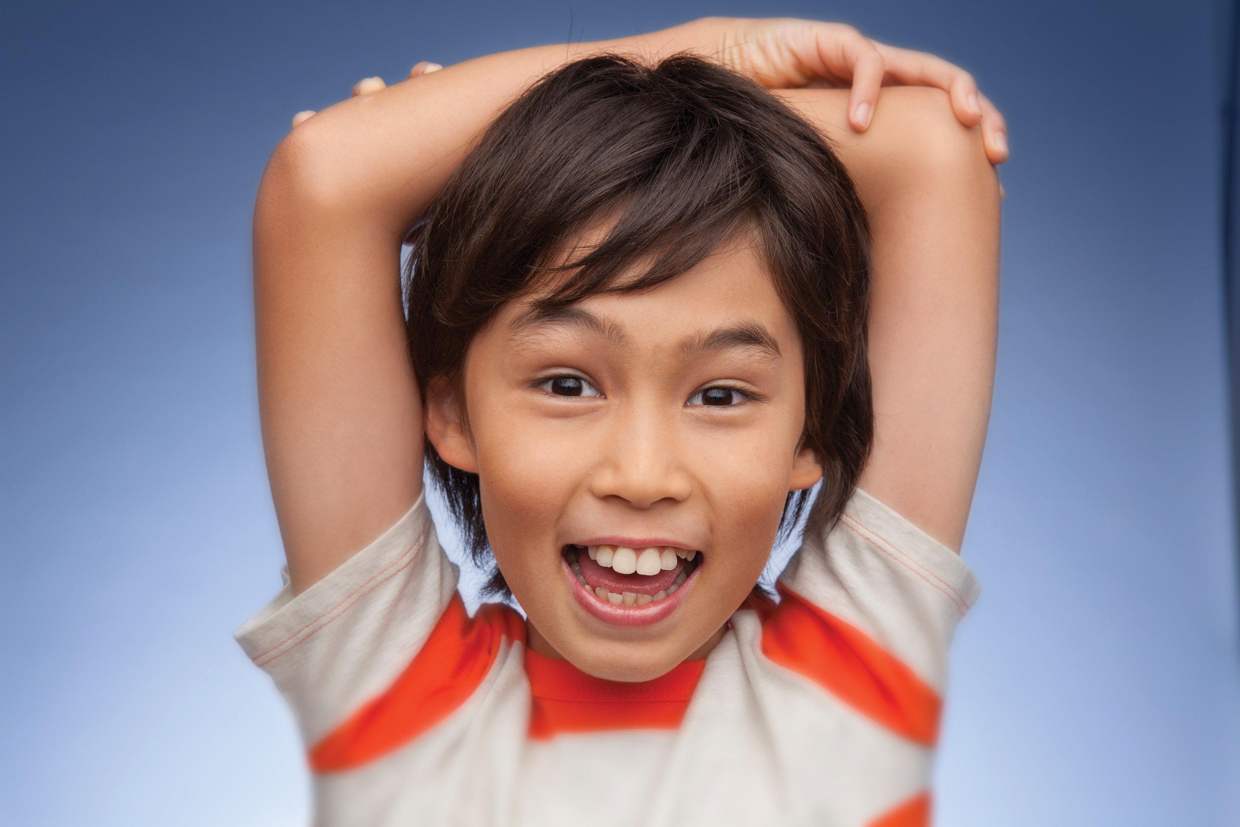 Pediatric orthodontic patient