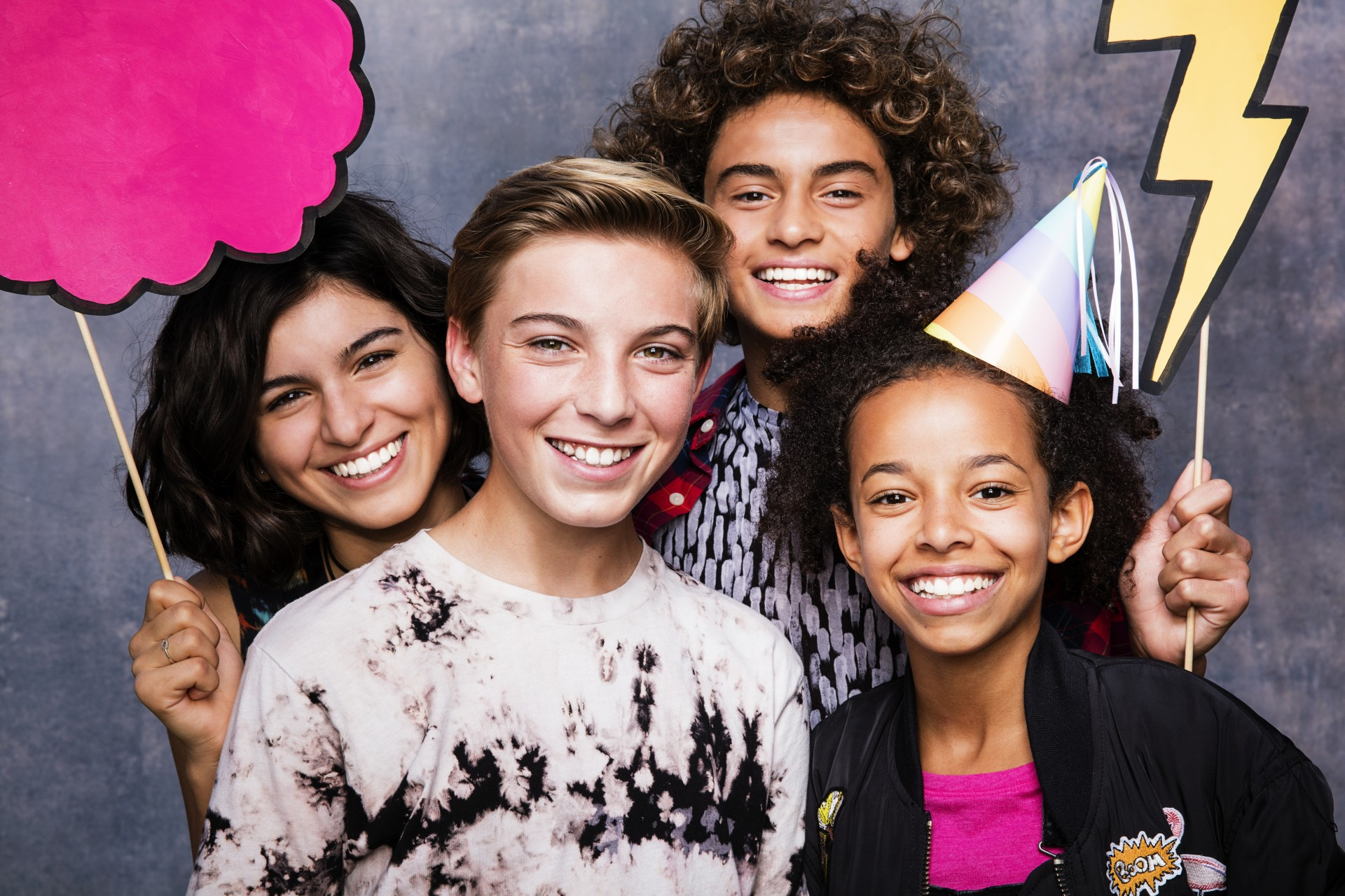 Photo of Smiling teens compliments of Align Contact