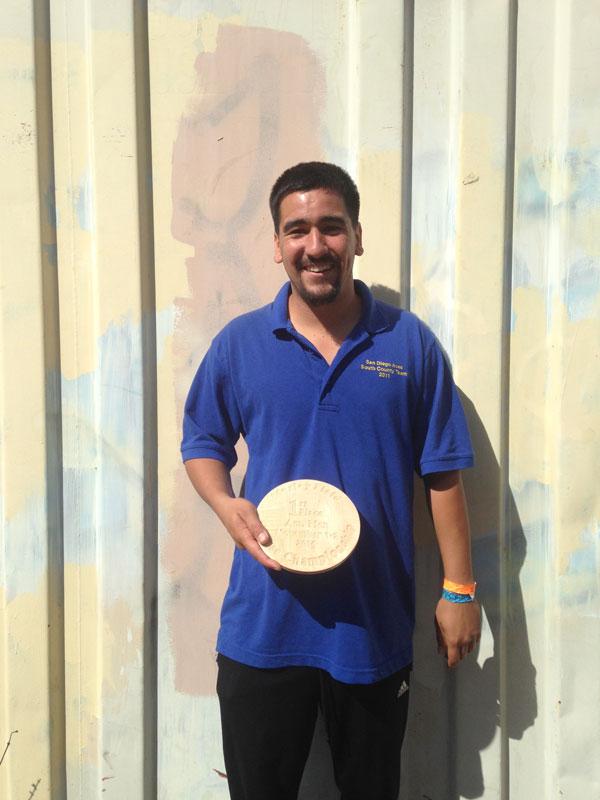 Carlos Caballero - 2014 Course Championship Advanced Division Winner