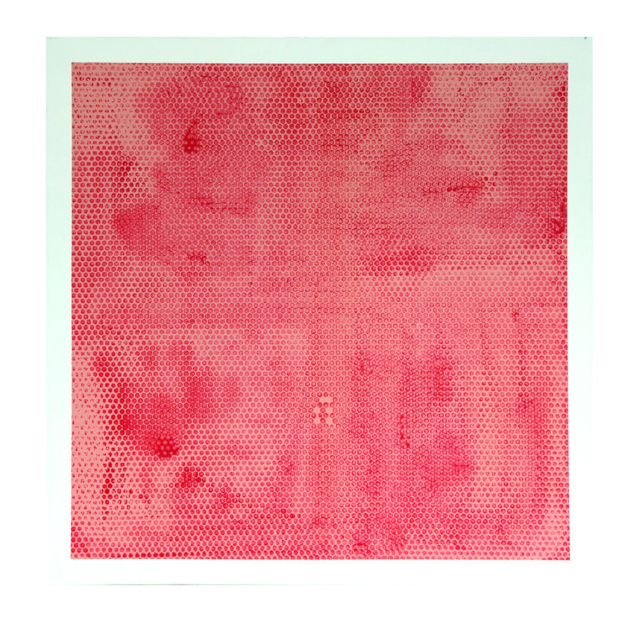 Thursday Talk, 2014  acrylic on canvas  40 x 40 inches