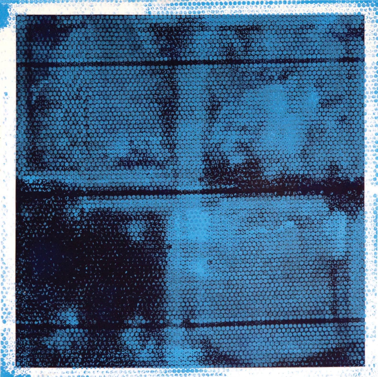 "BATHROOM IN THE BASEMENT LEFT.    Acrylic on Canvas.  2014.     36"" x 36"""