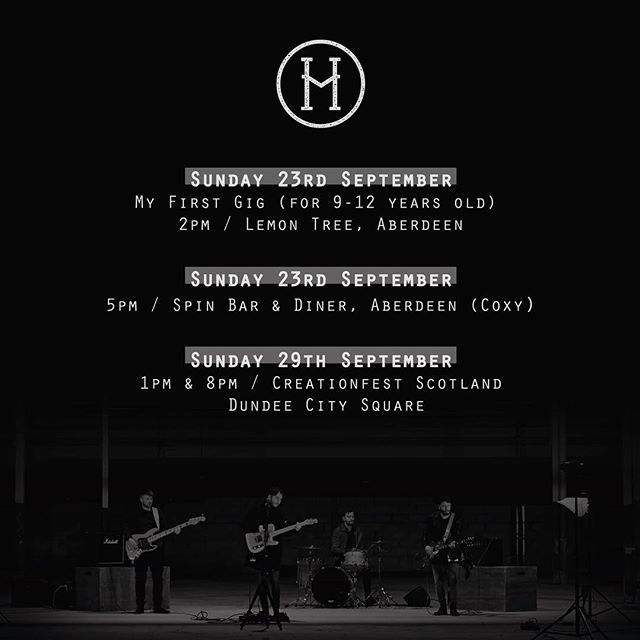Few gigs this month. Cannot wait to play!!