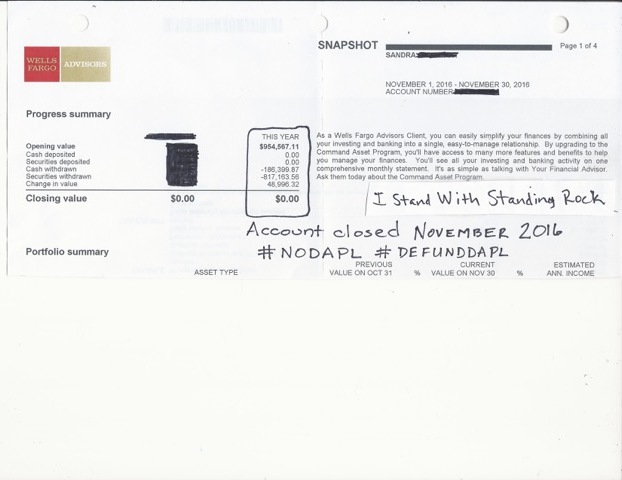 Image of a $1 million account closed by a Seattle local