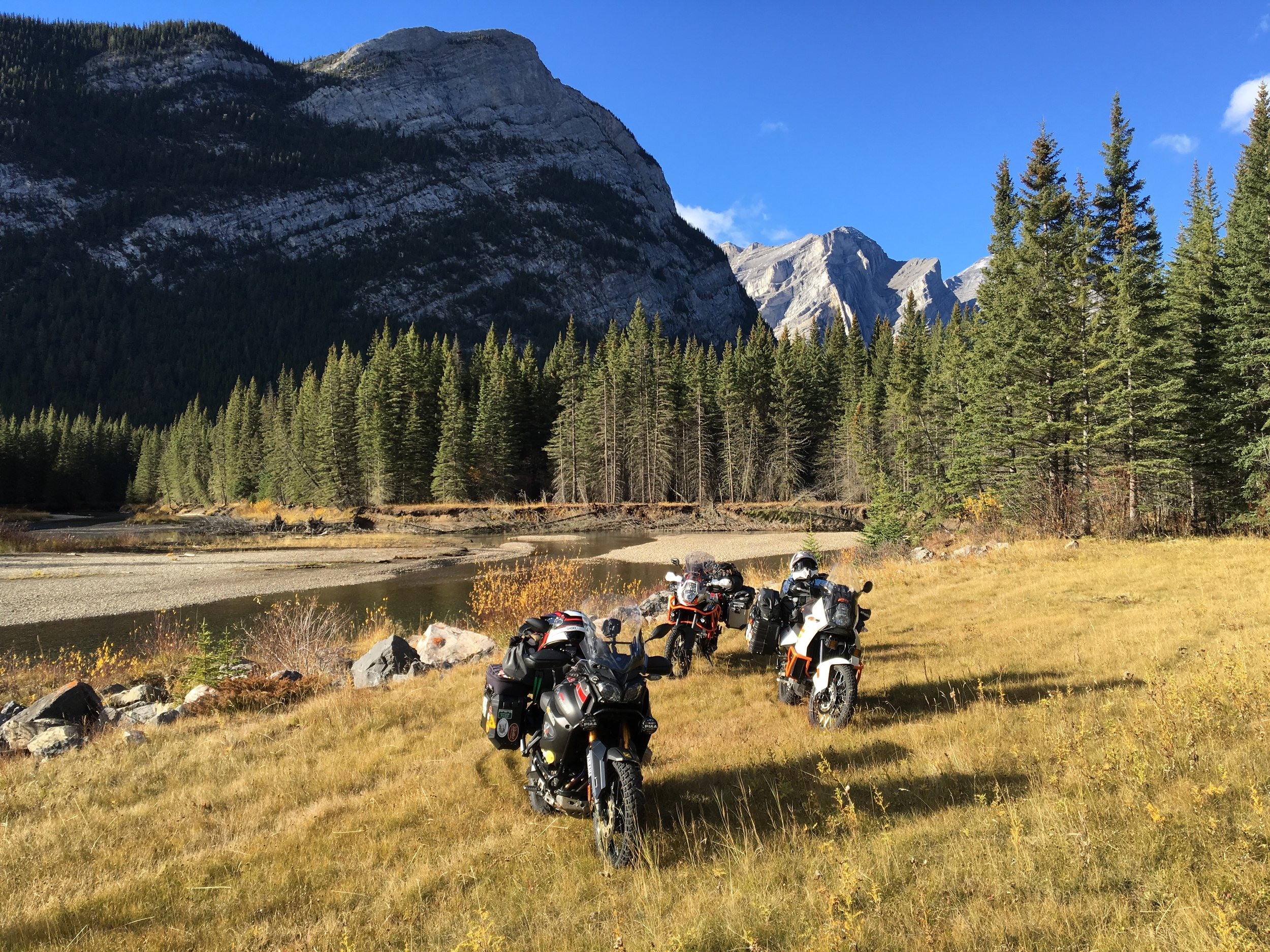 Epic ride to Alberta & British Columbia with my Adventure friends Marshal Gardner and his nephew Devin.