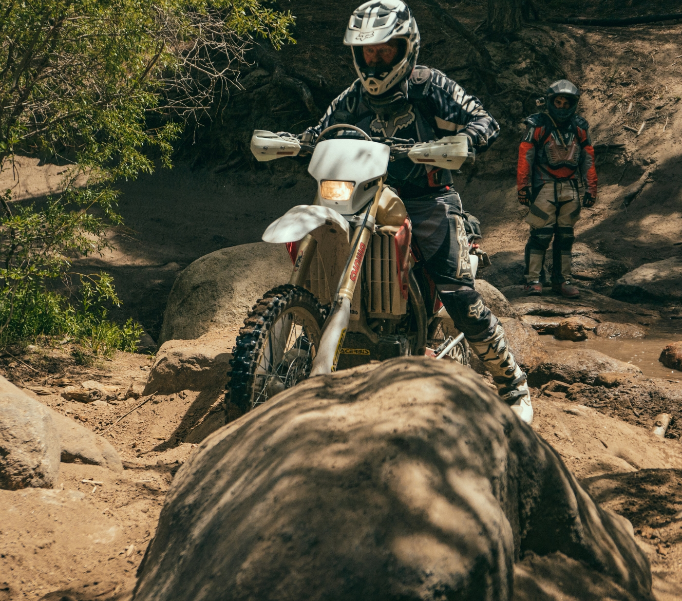 If you ever get the chance to ride with the crew of WLF Enduro, be prepared to go to work!