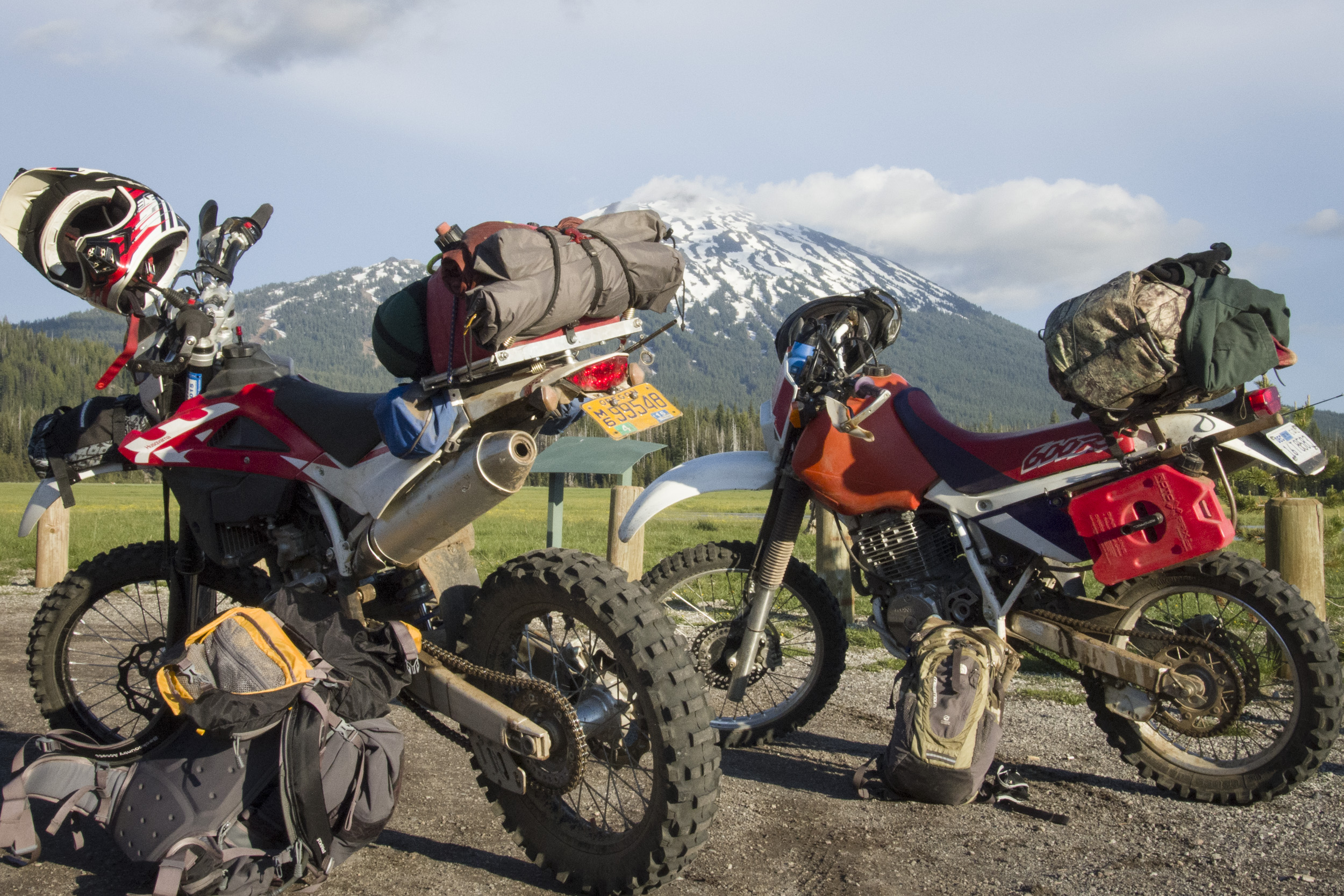 Moto camping with Dave Reuss of  dailyshredder.com