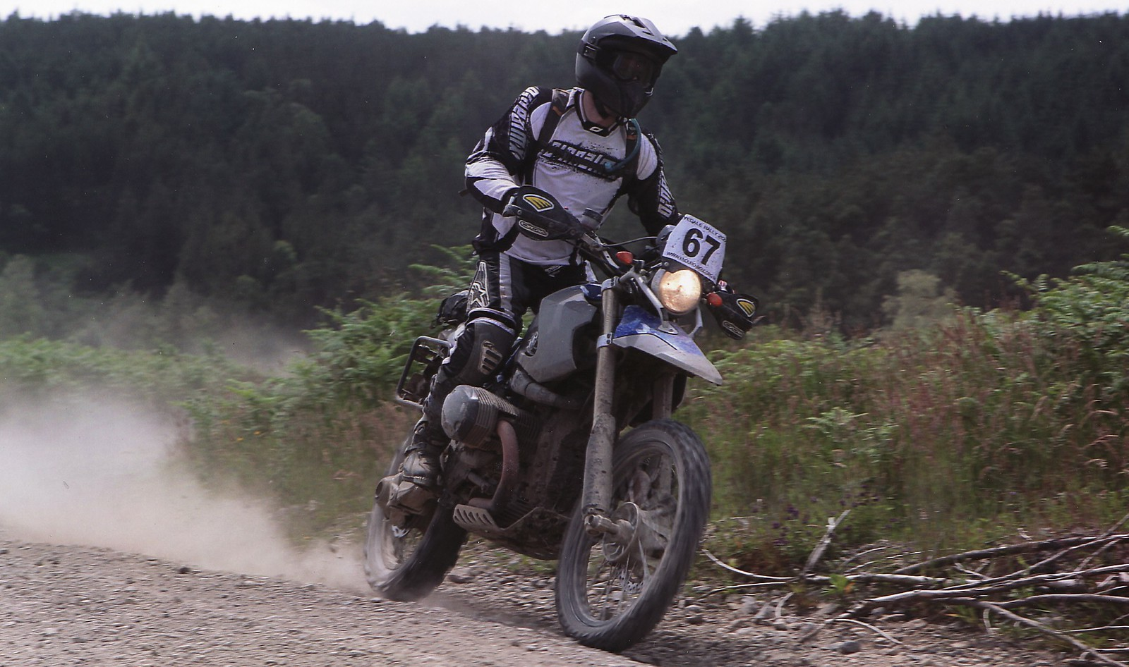 My first race on the HP2, The Rydale Rally