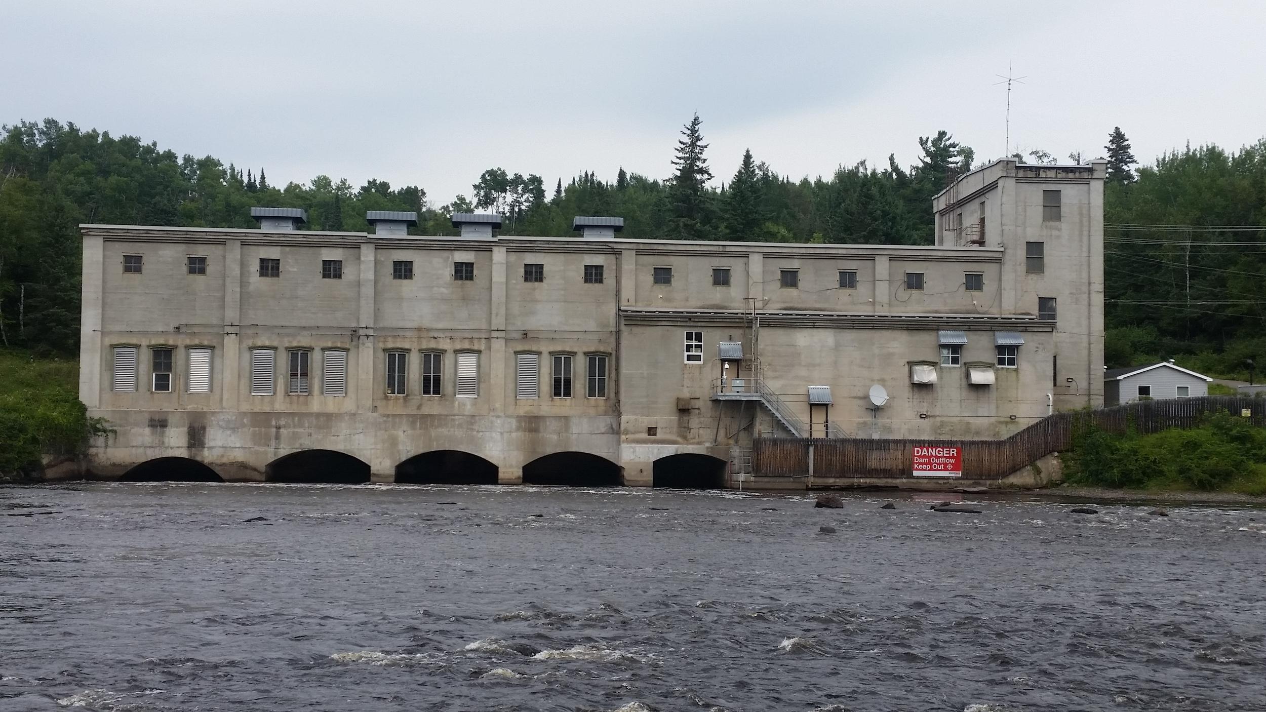 Kakabeka Falls Power Plant