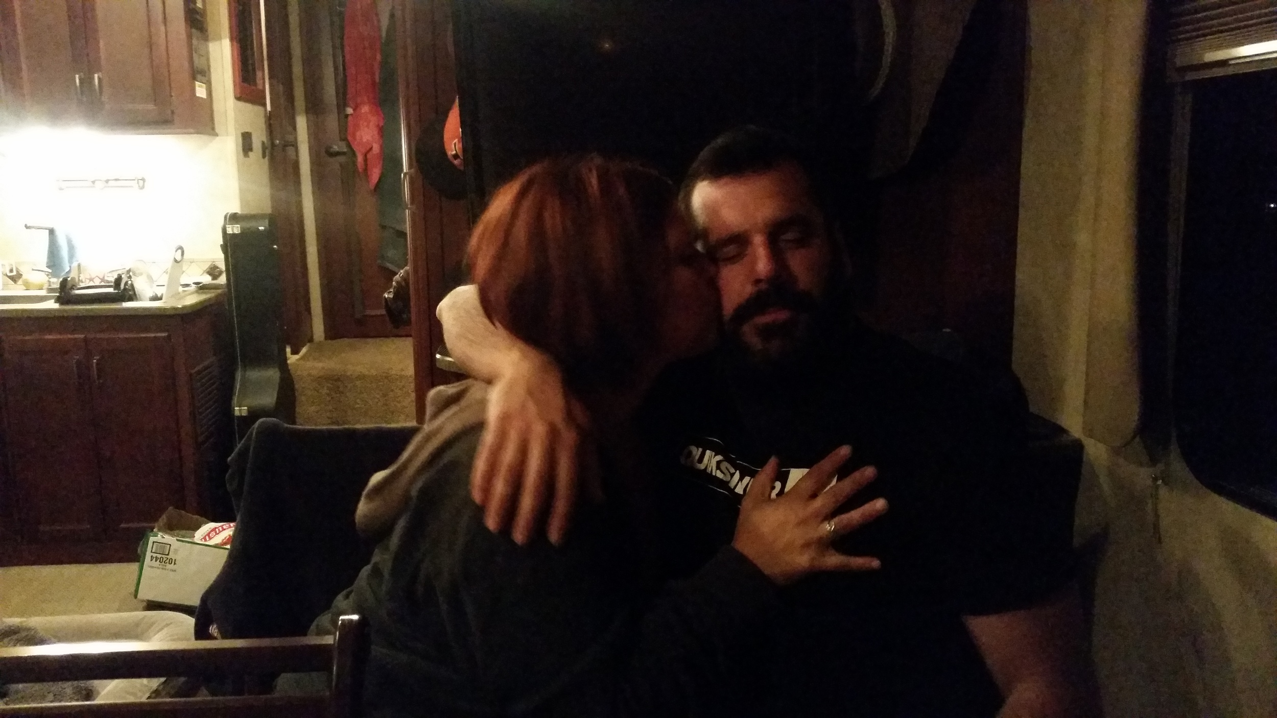 No sober photographer = this being the best pic of AP and Jenny we have.